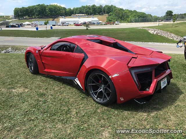 Lykan Hypersport spotted in Elkhart Lake, Wisconsin