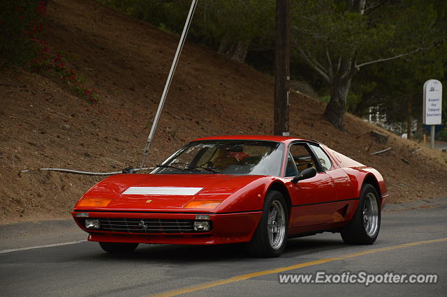 Ferrari 512BB spotted in Los Angeles, California