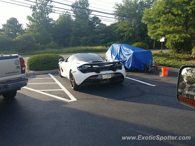 Mclaren 720S spotted in Brick, New Jersey