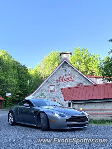 Aston Martin Vantage spotted in Quebec, Canada, Canada