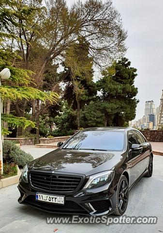 Mercedes S65 AMG spotted in Tehran, Iran