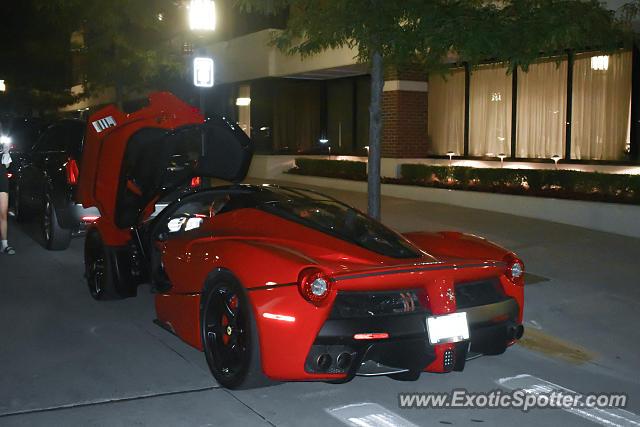 Ferrari Laferrari Spotted In Birmingham Michigan On 08 14 2020 Photo 2
