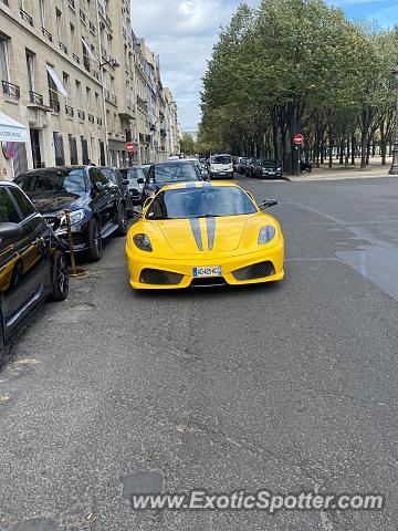 Ferrari F430 spotted in PARIS, France