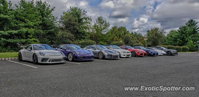 Porsche 911 GT3 spotted in Warren, New Jersey