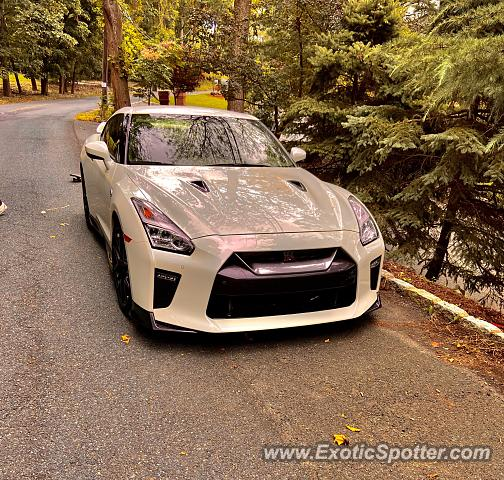 Nissan GT-R spotted in Watchung, New Jersey