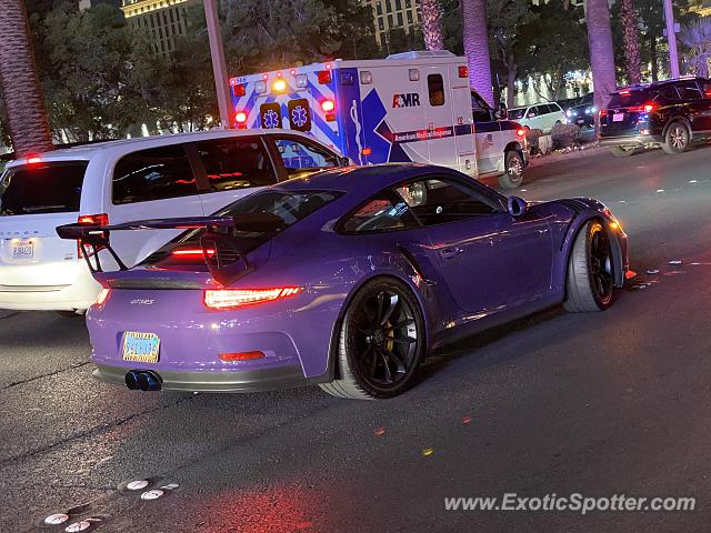 Porsche 911 GT3 spotted in Las Vegas, Nevada