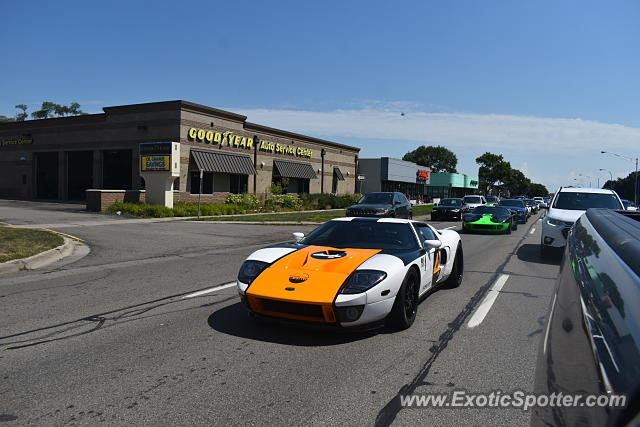 Ford GT spotted in Bloomfield Hills, Michigan