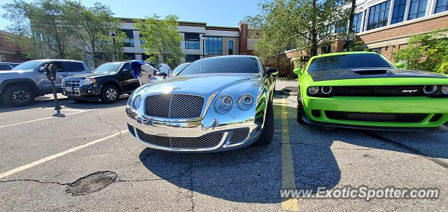 Bentley Continental spotted in Cleveland, Ohio