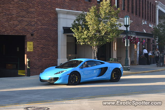 Mclaren MP4-12C spotted in Bloomfield Hills, Michigan