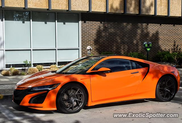 Acura NSX spotted in Bloomfield Hills, Michigan