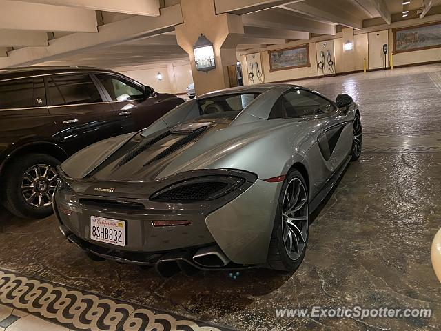 Mclaren 570S spotted in Las Vegas, Nevada