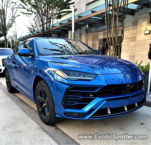 Lamborghini Urus spotted in Houston, Texas
