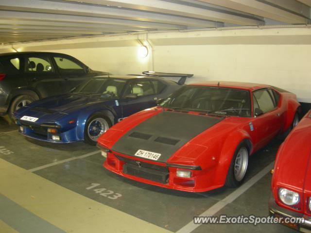 DeTomaso Pantera2 spotted in Paris, France