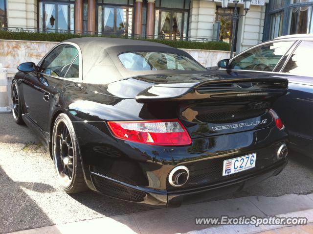 porsche 911 turbo spotted in monte carlo monaco on 02 19 2011. Black Bedroom Furniture Sets. Home Design Ideas