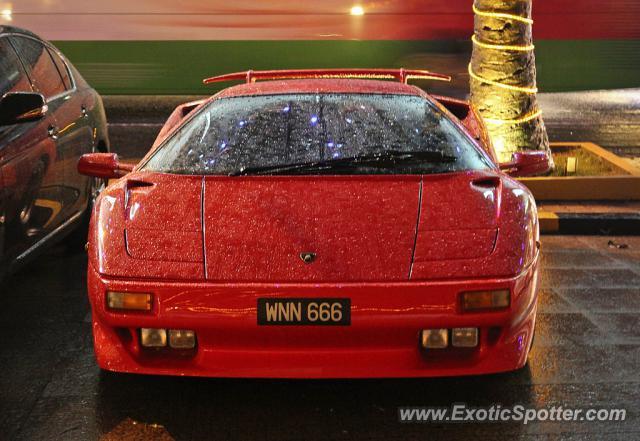 Lamborghini Diablo Spotted In Kuala Lumpur Malaysia On 04 14 2011