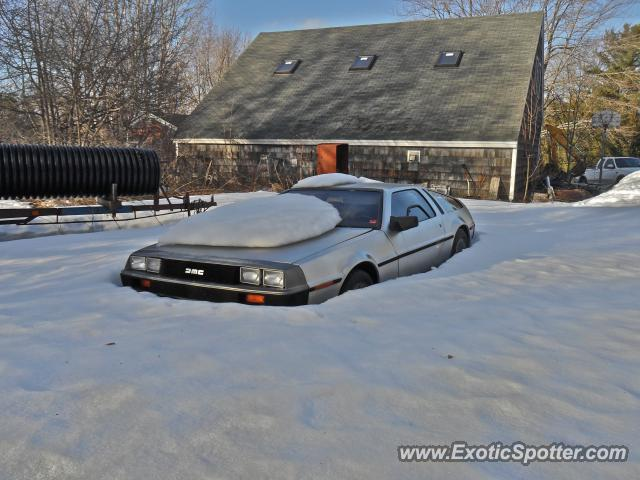 DeLorean DMC-12 spotted in Yarmouth, Maine
