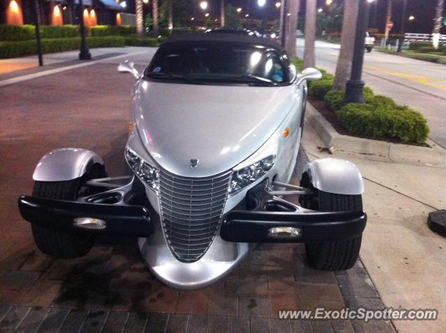 Plymouth Prowler spotted in Jacksonville, Florida