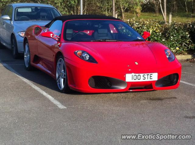 Ferrari F430 spotted in Teesside, United Kingdom