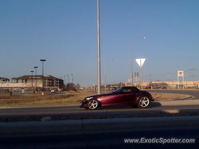 Plymouth Prowler spotted in Winnipeg, Manitoba, Canada