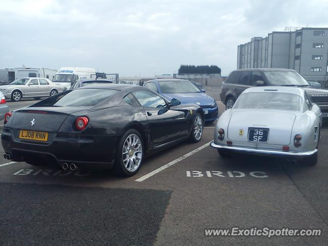 Ferrari 250 spotted in Silverstone, United Kingdom