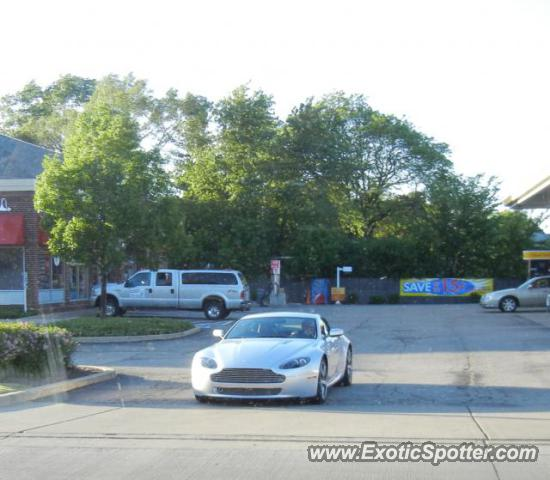 Aston Martin Vantage Spotted In Barrington, Illinois On 05