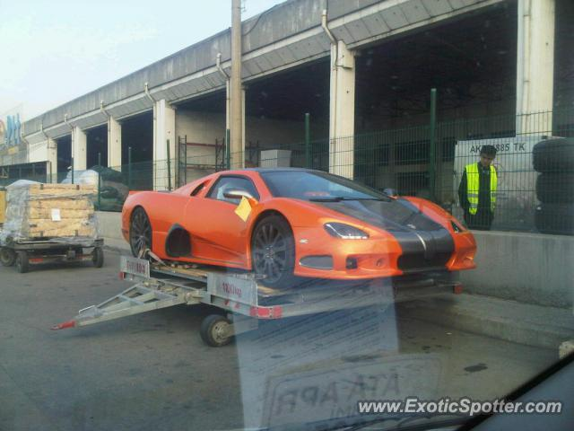 SSC Ultimate Aero spotted in Istanbul, Turkey