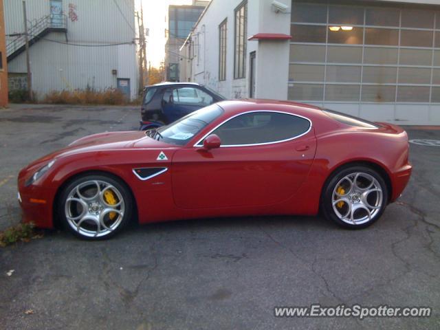 on Alfa Romeo Montreal