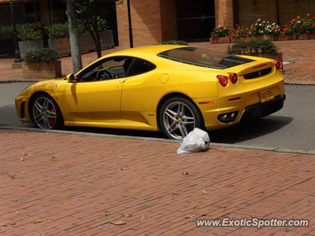 Ferrari F430 Spotted In Bogota Colombia Colombia On 08052011