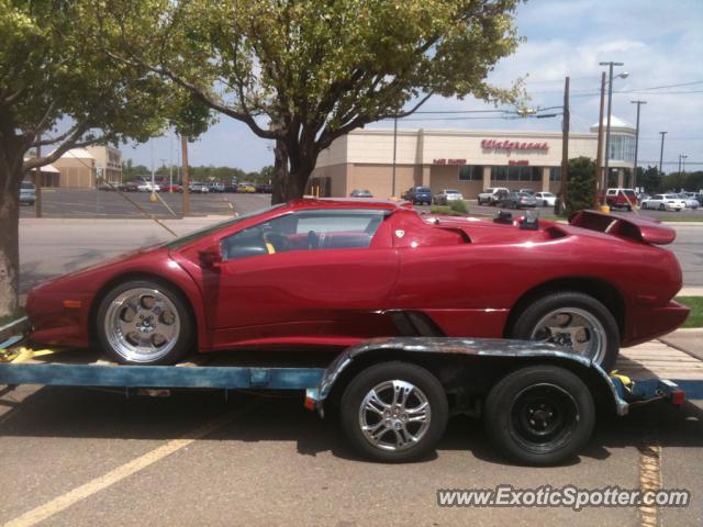 Lamborghini Diablo Spotted In Amarillo Texas On 08 13 2011