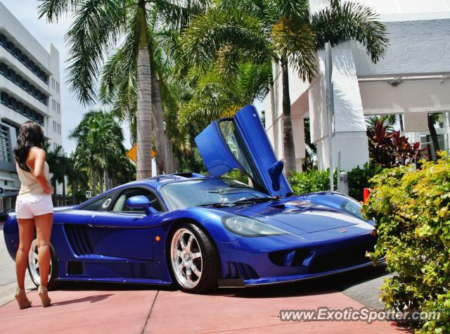 Saleen S7 spotted in Miami, United States on 07/06/2011