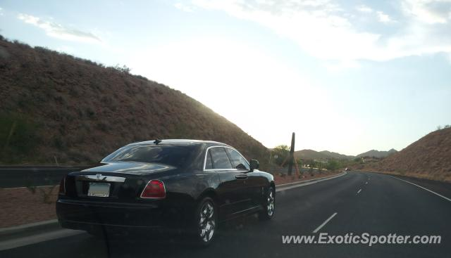 Rolls Royce Ghost spotted in Fountain Hills, Arizona