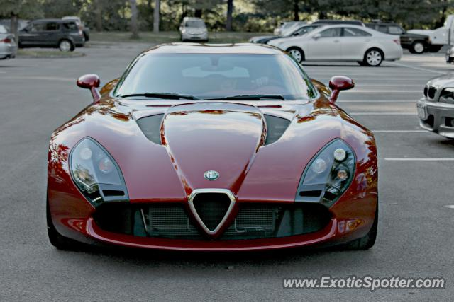 Alfa Romeo TZ3 Stradale spotted in Saratoga Springs, New York
