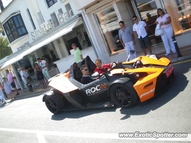 KTM X-Bow spotted in Puerto Banus, Spain