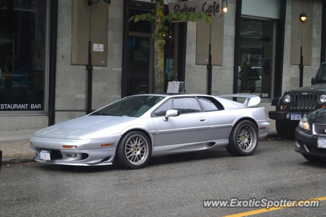 Lotus Esprit Spotted In Vancouver Canada On 09152011