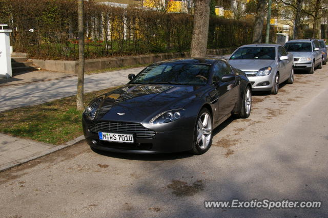 aston martin vantage spotted in munich germany on 04 15 2009. Black Bedroom Furniture Sets. Home Design Ideas
