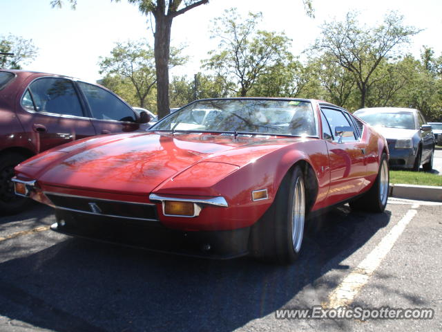 DeTomaso Pantera2 spotted in Salt Lake City, Utah