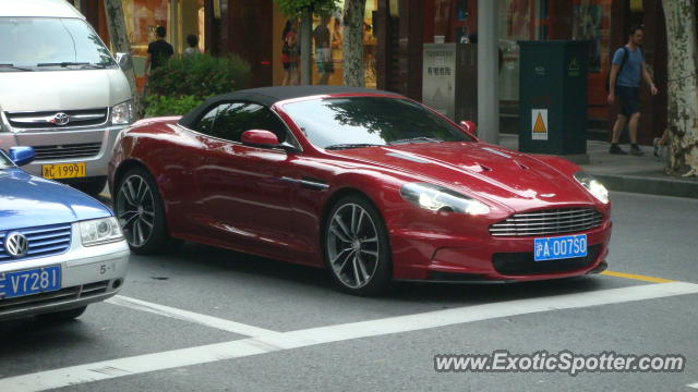 Aston Martin Dbs Spotted In Shanghai China On 08 13 2011