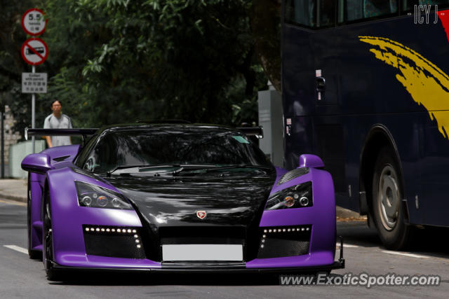 Gumpert Apollo spotted in Hong Kong, China