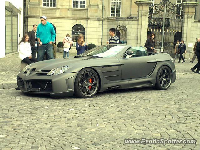 Mercedes SLR spotted in Zurich, Switzerland