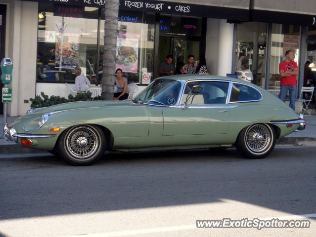 Jaguar E-Type spotted in Beverly Hills, California