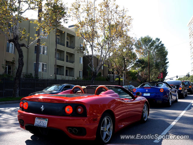 ferrari 599gtb spotted in beverly hills california on 11. Cars Review. Best American Auto & Cars Review