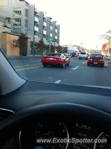 Ferrari 328 spotted in Downtown Vancouver, Canada