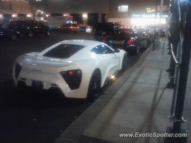 Zenvo ST1 spotted in Manhattan, New York