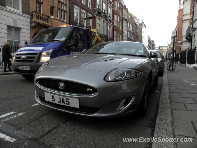 Jaguar XKR-S spotted in London, United Kingdom