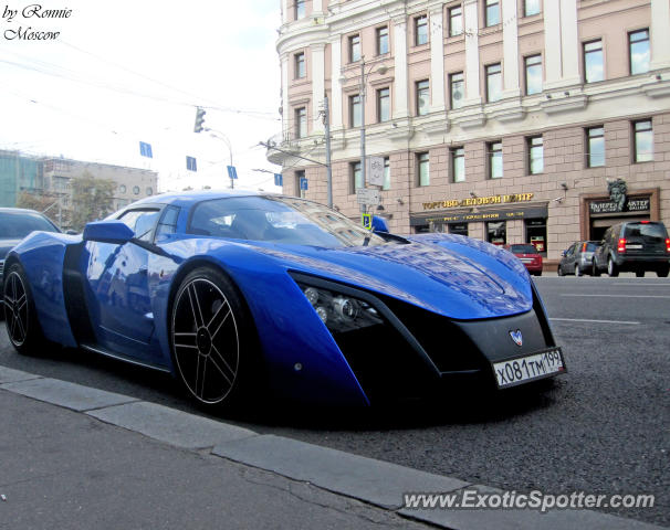 Marussia B1 spotted in Moscow, Russia