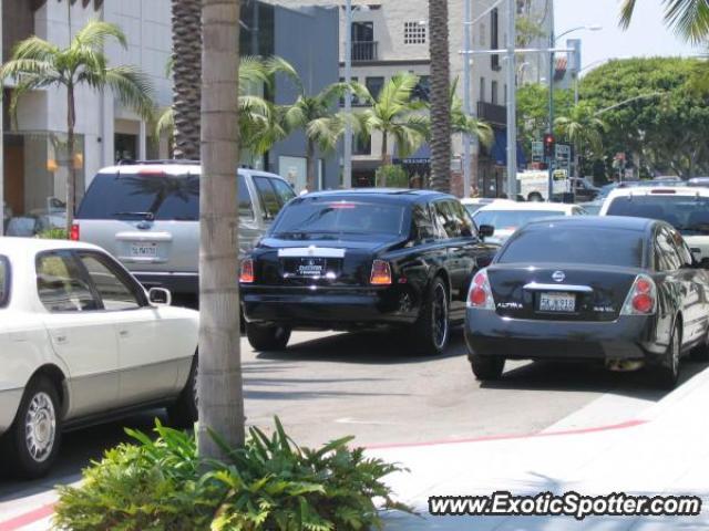 Rolls Royce Phantom spotted in Los Angeles, California on ...