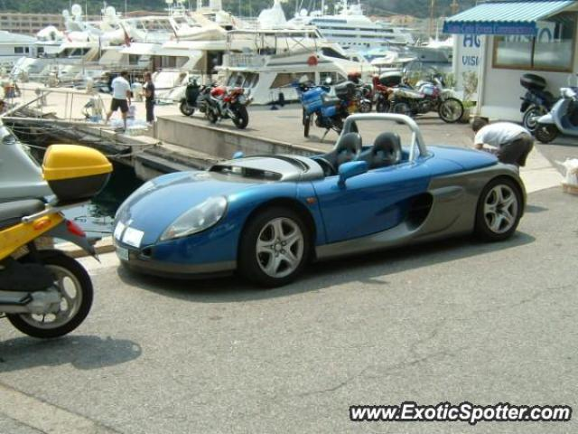 Renault Spider spotted in Monaco, Monaco