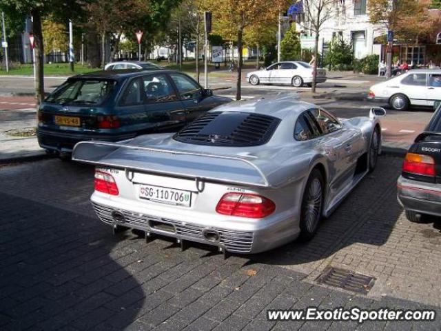 Mercedes CLK-GTR spotted in Leeuwarden, Netherlands