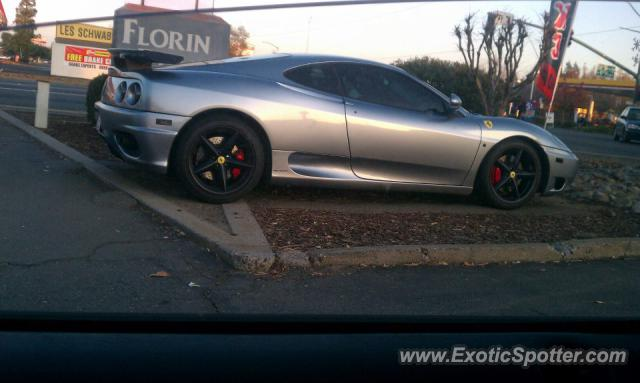 Ferrari 360 Modena spotted in Sacrato, United States on 12/08/2011