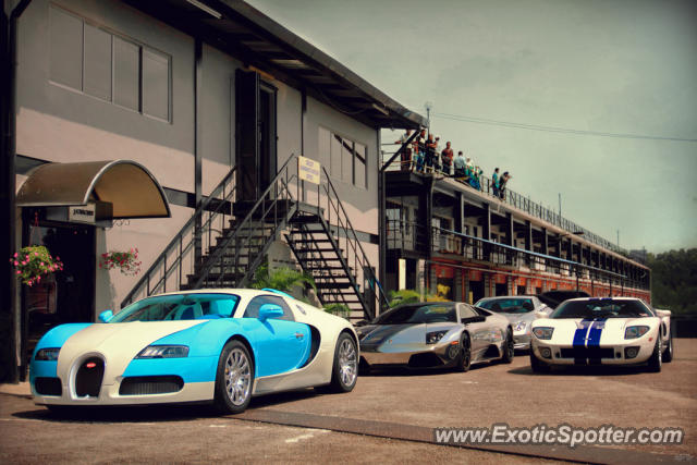 Bugatti Veyron spotted in Pasir Gudang, Malaysia